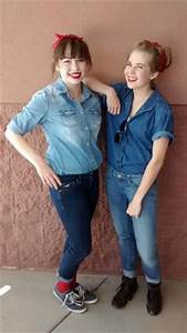 How to dress up like Rosie the Riveter - an inspiring Halloween costume idea from these ...
