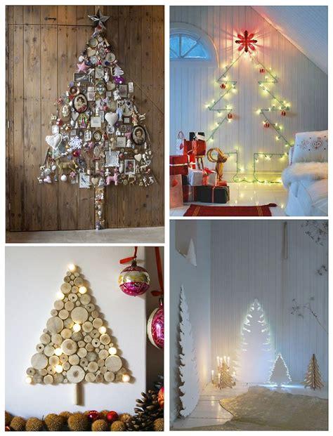 christmas tree alternatives ideas 12 alternative christmas tree decorating ideas style barista