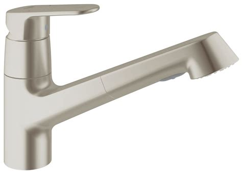 commercial kitchen faucet sprayer faucet com 32946dc2 in supersteel by grohe