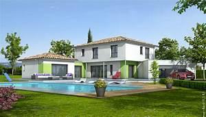 plan maison contemporaine turquoise plan maison gratuit With plan de belle maison