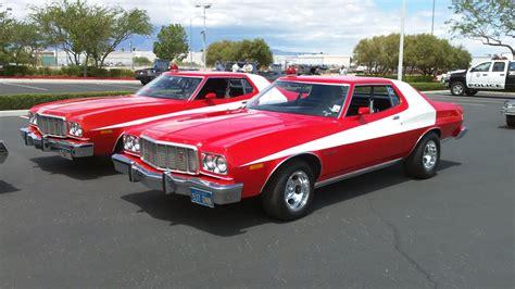 celebrity car starsky hutch  gran torino