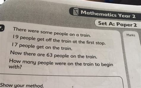 Can You Solve The 'simple' Maths Exam Question Confusing