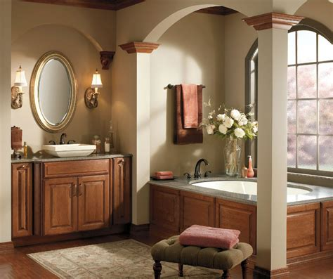 vanity pullout cabinet schrock cabinetry