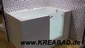 Sitzwanne Für Dusche : sitzbadewanne mit t r badewannen mit t r barrierefreie badewannen mit einstieg badshop ~ Eleganceandgraceweddings.com Haus und Dekorationen