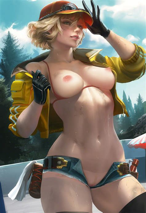 Cindy Aurum Final Fantasy Xv Sakimichan Rule