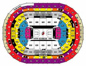 portland trail blazers seating chart portland trail