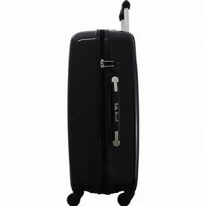 Malle Pas Cher : lot de 3 valises dont 1 cabine little marcel malle couleur principale noir promotion ~ Teatrodelosmanantiales.com Idées de Décoration