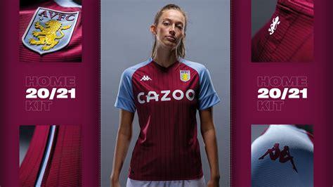 Aston Villa's new 2020/21 home kit | AVFC