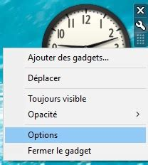 installer horloge sur bureau installer des gadgets dans windows 10 wikiclic
