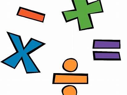 Maths Transparent Math Clipart Signs Background Number