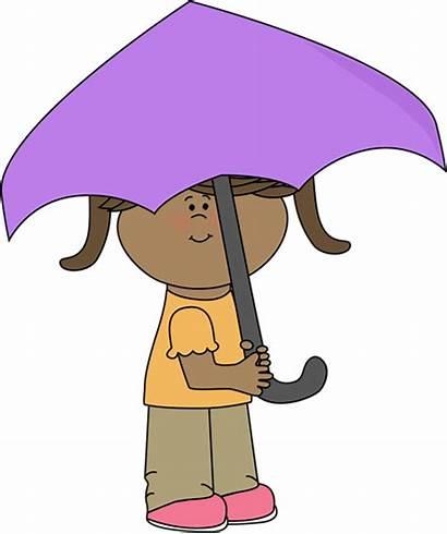 Umbrella Under Clipart Clip Rain Cliparts Graphics