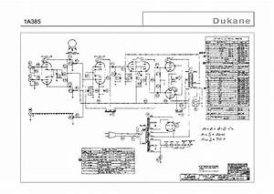 Dukane 1a385 Sch Service Manual Download  Schematics