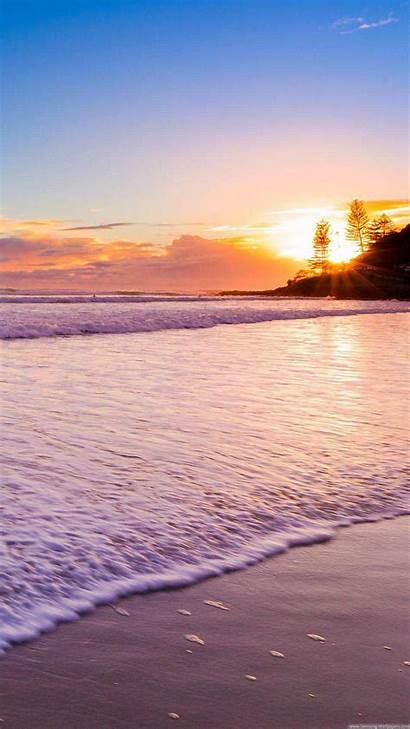 Iphone Sunset Beach Wallpapers Plus Android Phone