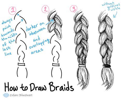 braids drawing  getdrawingscom   personal