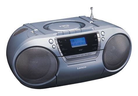 radio mit cd lenco tragbares fm dab radio mit cd mp3