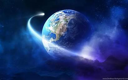Earth Planet Cool Space Wallpapers Colorful Desktop