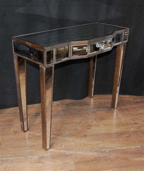 mirror tables deco mirror console table mirrored tables furniture