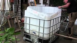 Sandfilteranlage Abdeckung Selber Bauen : video pool aus ibc tank container selber bauen so einfach geht 39 s ~ Orissabook.com Haus und Dekorationen