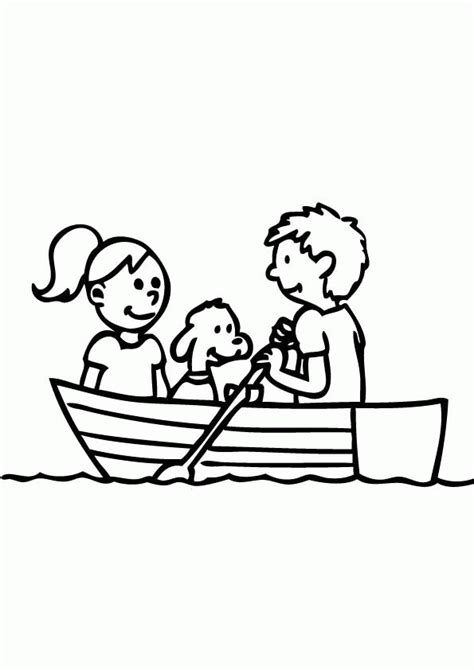 Row The Boat Book by Row Row Row Your Boat Coloring Page Coloring Home