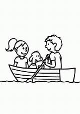 Row Boat Coloring Clipart Colouring Pages Clip Rowing Cliparts Library Printable Popular Getcolorings Coloringhome sketch template
