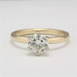 Pre-Owned 14 Karat Yellow Gold Diamond Solitaire Ring