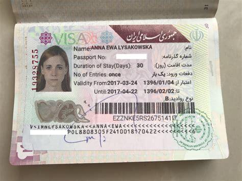 iran visa  arrival voa   anna