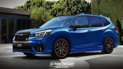 Please Build This 2019 Forester Sti, Subaru! Forcegtcom