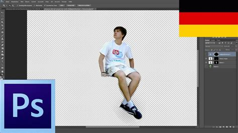 tutorial person ausschneiden und einfuegen  photoshop