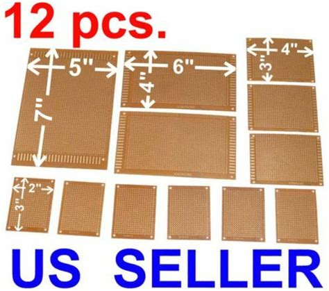 Pcs Kit Prototyping Pcb Printed Circuit Board Prototype