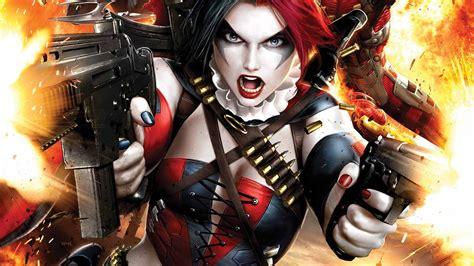 Harley Quinn Anime Wallpaper - squad harley quinn gun batman wallpapers hd