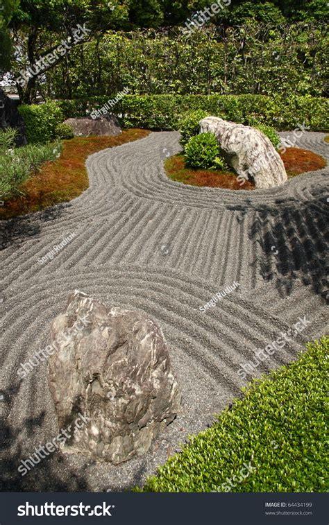zen kyoto japanese gardens shutterstock