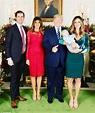 Luke Trump wears a 'Future Republican' bib | Daily Mail Online