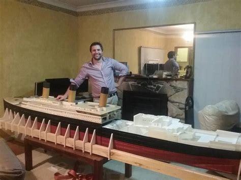 meticulous  printed rc model   titanic