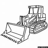 Digger Moving Craft Parts Coloring Pages Truck Template Bulldozer sketch template