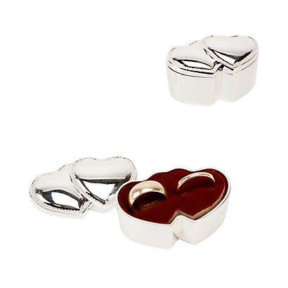 hearts ring box or ceremony wedding ring box