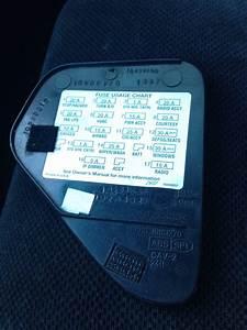 95 Camaro Interior Dash Fuse Cover W  Diagram