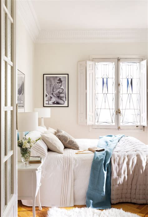 12 Dormitorios Decorados En Blanco