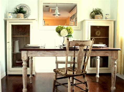 15 Pretty And Charming Shabby Chic Dining Rooms