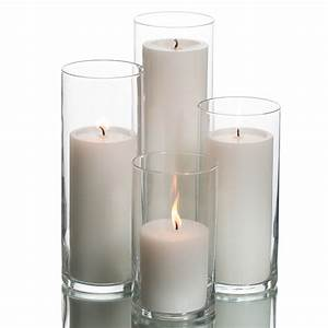 Eastland Cylinders & Richland Pillar Candles Set of 4