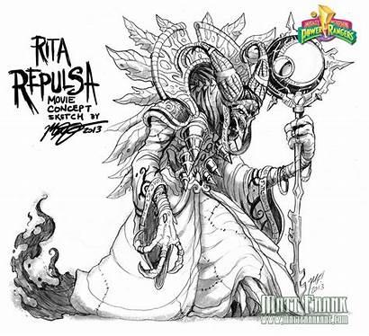 Rita Repulsa Concept Rangers Power Kaijusamurai Max
