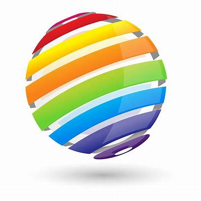 Sphere Colorful Vector Clipart Graphics Background Vectors