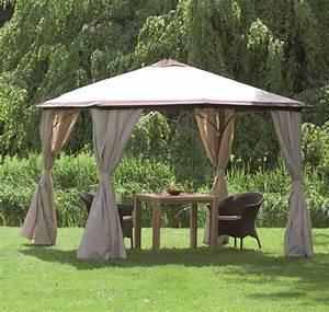 Siena Garden Pavillon : siena garden ersatzdach zu pavillon milos mocca natur ~ Whattoseeinmadrid.com Haus und Dekorationen