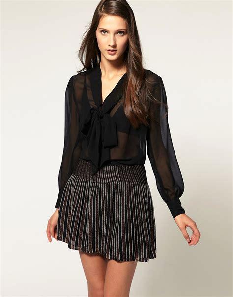 sheer black blouse trend post wednesday sheer blouse iamnotasupermodel