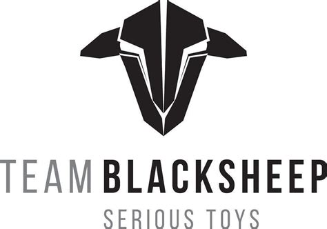 team black sheep logo transfer sticker mm  mm phaser fpv