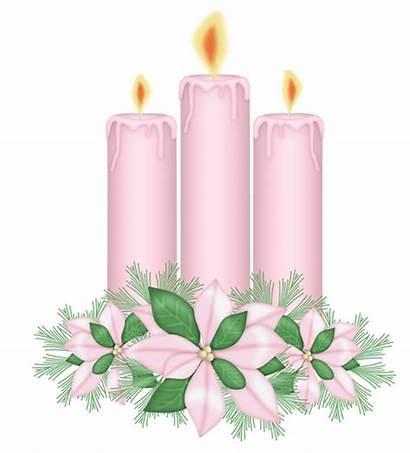 Candles Clipart Flowers Transparent Velas Clip Creations
