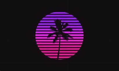 Palm Tree Animated Animation Retro Armory Shadow
