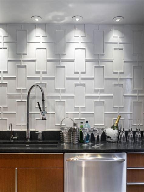 art   kitchen patterned tile  bold meets
