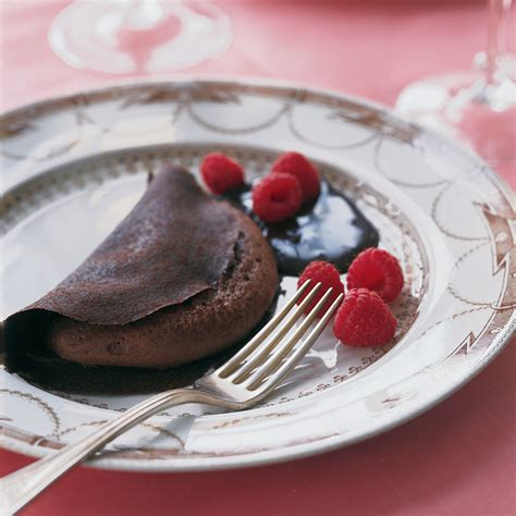 chocolate crepe souffle