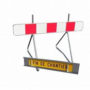 Fin De Chantier : panneau de signalisation k2 fin de chantier ~ Mglfilm.com Idées de Décoration