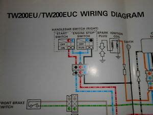 Yamaha Oem Factory Color Wiring Diagram Schematic Tweu